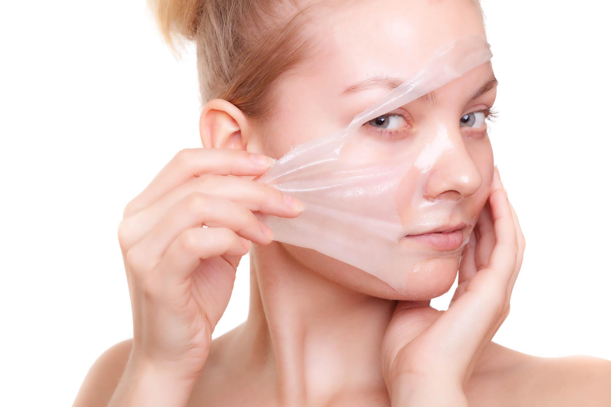 لایه برداری از سطح پوست